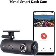 70mai Dash Camera for Cars, 1080P, 130° Wide Angle, Built-in WiFi Dash Cam, Emergency Recording, APP Control Dashboard, Car Camera Recorder with Night Vision, G-Sensor, Car DVR