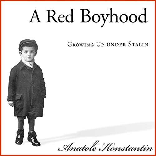 A Red Boyhood audiobook cover art