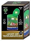 Light-up Terrarium Kit for Kids LED Light on Lid - Science Kit for Kids - Crafts & Arts Create...