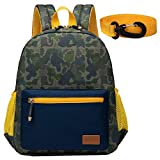 willikiva Camo Toddler Backpack for Kids Children Backpack for Boys and Girls Waterproof Preschool Kindergarten Bags Safety Harness Leash(Camouflage)