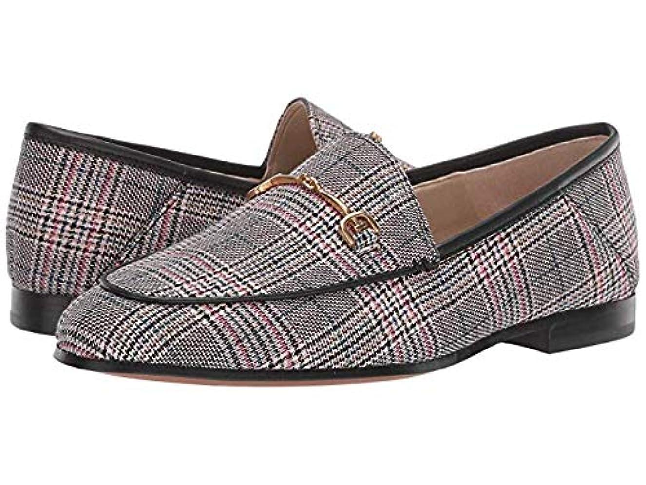 人類ダイヤモンドトレーニング[Sam Edelman(サムエデルマン)] レディースローファー?靴 Loraine Loafer Black/White/Pink Multi Plaid Bale Fabric (23.5cm) M [並行輸入品]