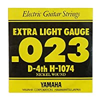 YAMAHA H1074 エレキギター用 バラ弦 4弦×6本