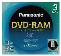 録画用カートリッジ式DVD-RAMメディア パナソニック LM-AD240LJ3