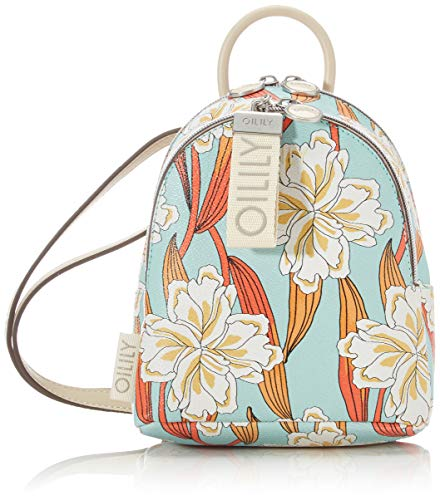 Oilily dames Jolly Ornament Shoulderbag Svz schoudertas, turquoise (Light Turquoise), 9x20x17 cm