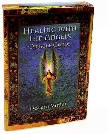 JOSN 44Pcs Max 66% OFF Set Tarot Cards - with Healing Angels Gil The San Jose Mall