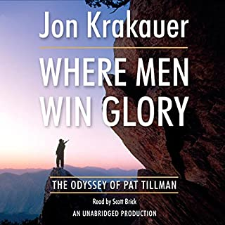 Where Men Win Glory audiobook cover art