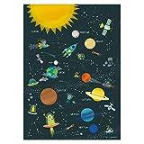 Poster Solarsystem Kinder Plakat Sonnensystem Bilder