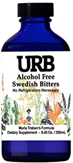 URB Swedish Bitters 8.45 oz (250 ml) Maria Treben's Formula Made with URB Water, Helps with Liver Cleanse, Constipation, a...