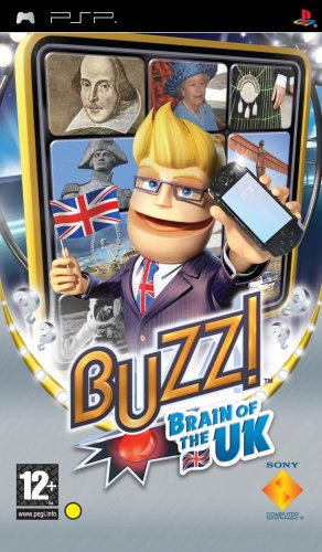Buzz! Brain of the UK (PSP) [Importación inglesa]