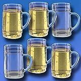 G'spritzter/Schorle Glas 0,25l SAN Kunststoffglas 6er-Set