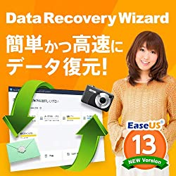 EaseUS Data Recovery Wizard Professional 13|1ライセンス/永久版|ダウンロード版