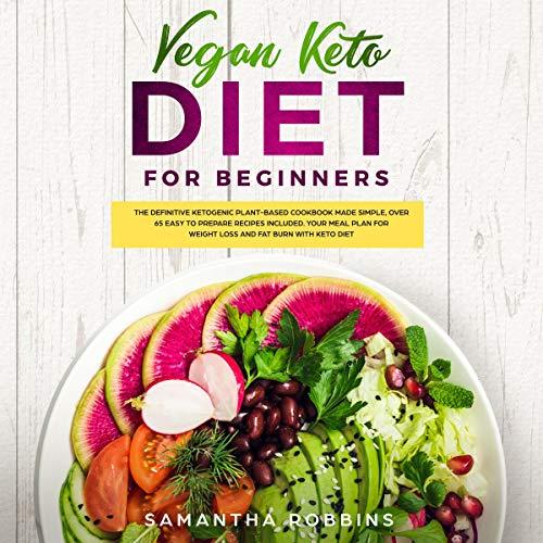 Vegan Keto Diet for Beginners cover art
