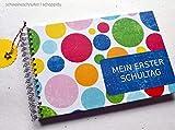 Gästebuch DIN A5 Mein erster Schultag Vintage Punkte