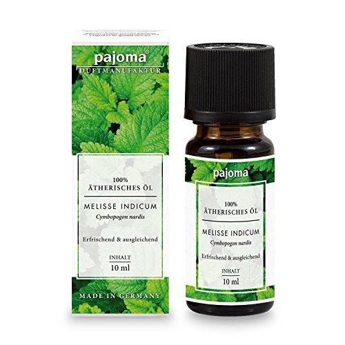 pajoma Duftöl Melisse Indicum, 100% naturrein, ätherisch, 10 ml