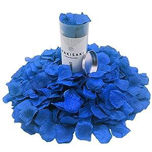 WAKISAKI Pétalos de Rosa Artificiales, desodorizados, Separados, listos para Usar, para decoración de Bodas, Fiestas…