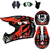Casco de motocicleta de campo traviesa, bicicleta de montaña, carreras, casco de rally profesional,...