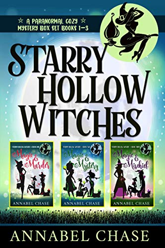 Starry Hollow Witches: A Paranormal Cozy Mystery Box Set, Books 1-3 (English Edition)