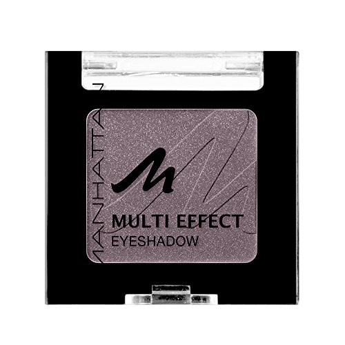 Manhattan Multi Effect Eyeshadow – Brauner, schimmernder Lidschatten in handlicher Dose,...
