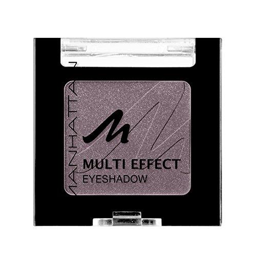 Manhattan Multi Effect Eyeshadow – Brauner, schimmernder Lidschatten in handlicher Dose, farbintensiv und langanhaltend – Farbe Choc Choc Kiss 96Q – 1 x 2g