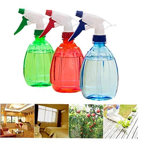 3 ensembles d'arrosage de couleur jardinage bonbon outils arrosoir chair de pulvérisation sous pression manuelle flacon pulvérisateur bouteille pulvérisateur vie (vert, rouge, bleu)