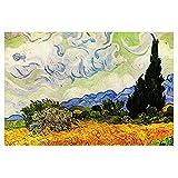 Reproducciones de pintura al óleo vintage del famoso Van Gogh...