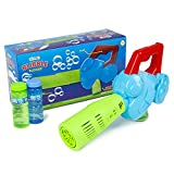 abeec Bubble Blower – Bubble Machine for Kids with 3 x 4oz Bottles of Bubble Solution Included – Outdoor Toys for Kids – Garden Toys with Bubble Mixture