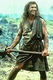 Mini-Poster, Motiv: Braveheart Mel Gibson Holding Axe, 28 x