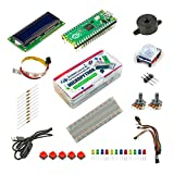 UCTRONICS Raspberry Pi Pico Starter Kit for Official Starter Book (Get Started with MicroPython on Raspberry Pi Pico), Pre-soldered Pico, Beginner Friendly