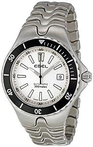 Ebel Men's 1215462 Sportwave Diver White Dial Watch image