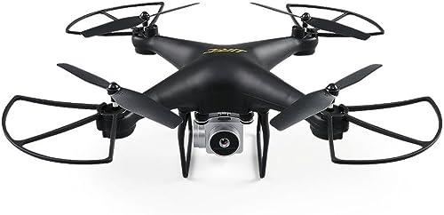 IGEMY Für JJRC H68 RC Drone mit WiFi FPV 1800 Mah Weißwinkelobjektiv 720 P HD Kamera Quadcopter (Schwarz