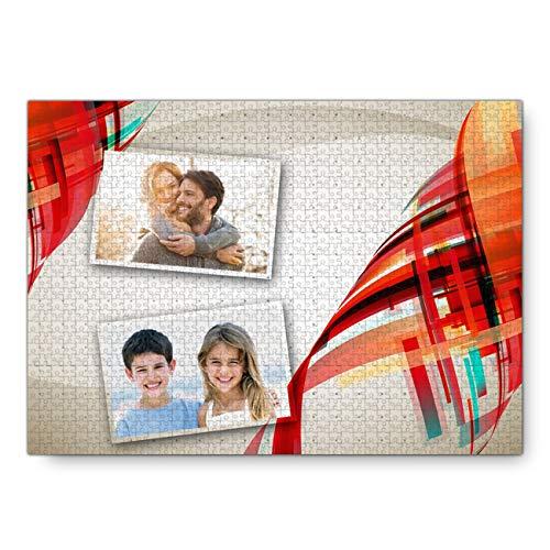Personalisierte Puzzle Foto Puzzle benutzerdefinierte Puzzle Familienpuzzle Erwachsenen Puzzle Kinder Puzzle Weihnachtsgeburtstagsgeschenk(Stil 13 1000 Stück 20IN * 30IN)