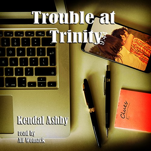 Trouble at Trinity audiobook cover art