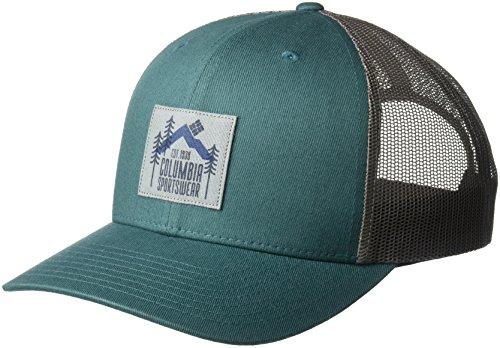 Columbia Men's Mesh Snap Back Hat, Poseidon Evergreen Patch, O/S
