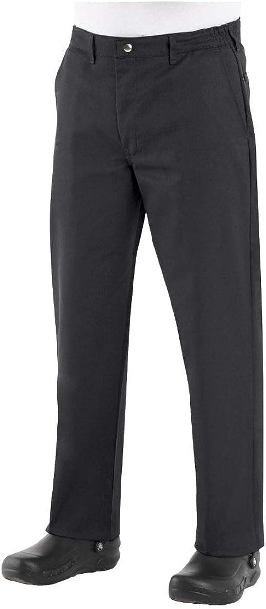 Chef Designs Pants Uniform Pants White Zipper Fly Chef/Cook Pant