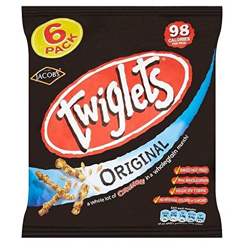 Jakobs Twiglets - Original (6x24g) - Packung mit 2