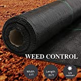 AGTEK Landscape Fabric 5x20 FT Heavy Duty Ground Cover