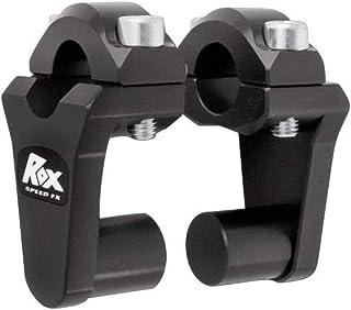 "Rox Speed FX Pivot Handlebar 2"" Riser 7/8""Handlebar Black 1R-P2SS"