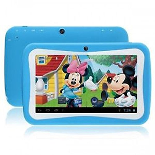 7inch WopadKids-7Q Google Android 5.1 Quad Core Capacitive Touch Screen 8GB Kids Tablet pc- Blue