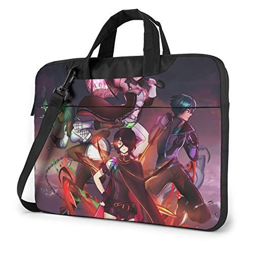 Rwby Laptop Bag Shoulder Laptop Sleeve Waterproof Laptop Sleeve Case Shockproof Laptop Sleeve Bag Unisex Laptop Carrying Case Computer Bag