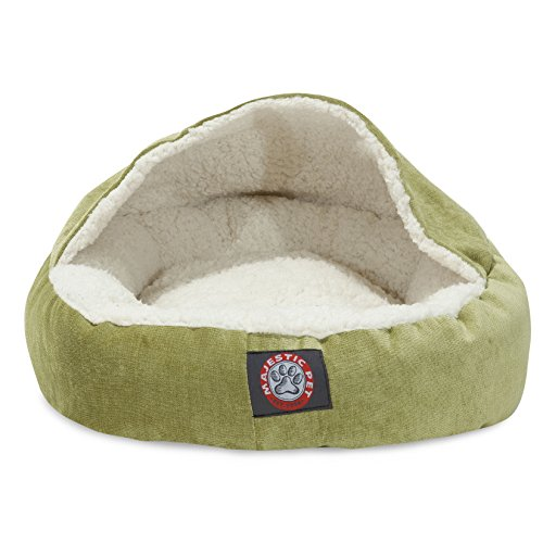 Majestic Pet Canopy Pet Cat Bed, Gray