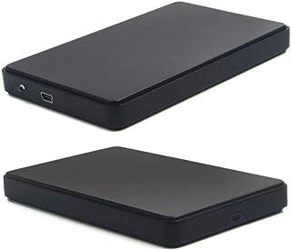 OUYAWEI Protable USB 3.0 1TB External Hard Drives Portable Desktop Mobile Hi-Speed Hard Disk Case Black