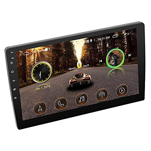 bysonice Multimedia Autoradio Mp5 Reproductor De Coche Android Radio Bluetooth Radio De Coche 1080p HD Pantalla TáCtil GPS Apto para Swm-9218s