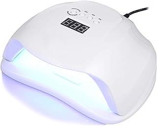 GWJ 24W/ 48W UV Lámpara De Luz LED Secador De Uñas De Gel con Temporizador, con 3 Temporizadores Integrados Y Pantalla LED para Manicura Shellac Y En Gel