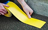 Jaune Road Line Marquage Torch-on Largeur 50 mm (5,1 cm) x 5 m de long