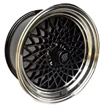 GBodyParts Reproduction GNX Rim Wheel Set 18' x 9' with Round Center Caps and Tri-Shield inlays Set of 4