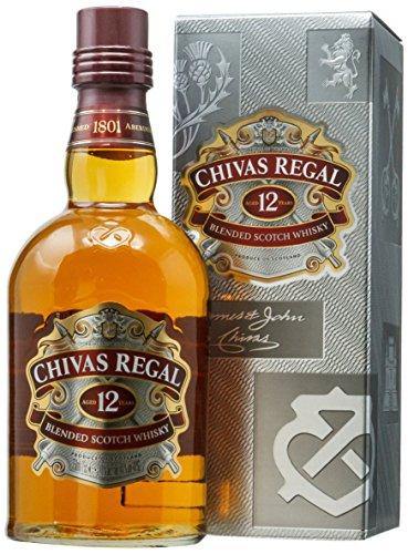 CHIVAS whisky escocés 12 años botella 70cl