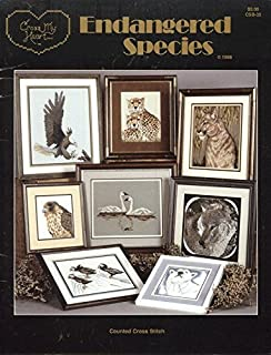 Endangered Species, Counted Cross Stitch