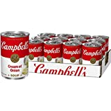 Campbell'sCondensed Cream of Onion Soup, 10.5 oz. Can (Pack of 12) (Packaging May Vary)
