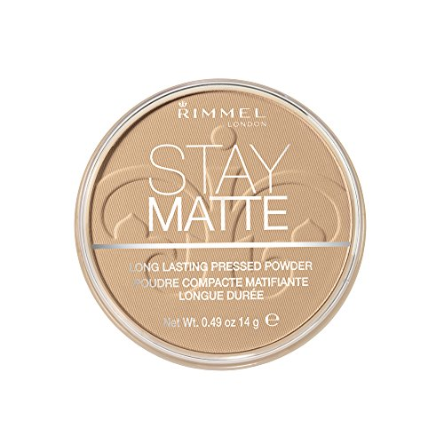 Rimmel London Stay Matte Base de Maquillaje Tono 6 Warm Beige, 14 gr