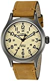 Timex Men's TWC001200 Expedition Scout 40mm Natural/Tan Leather Strap Watch